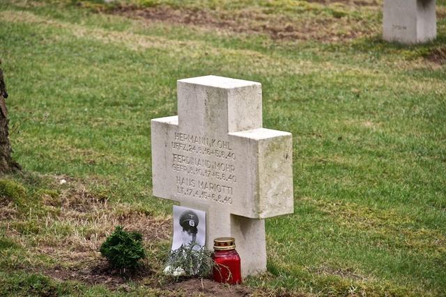 Grab von Lt. Mariotti
