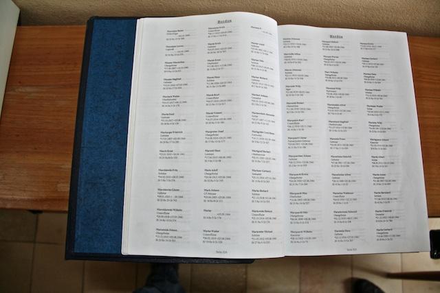 Friedhofsbuch