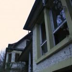 Wintergarten und Villa